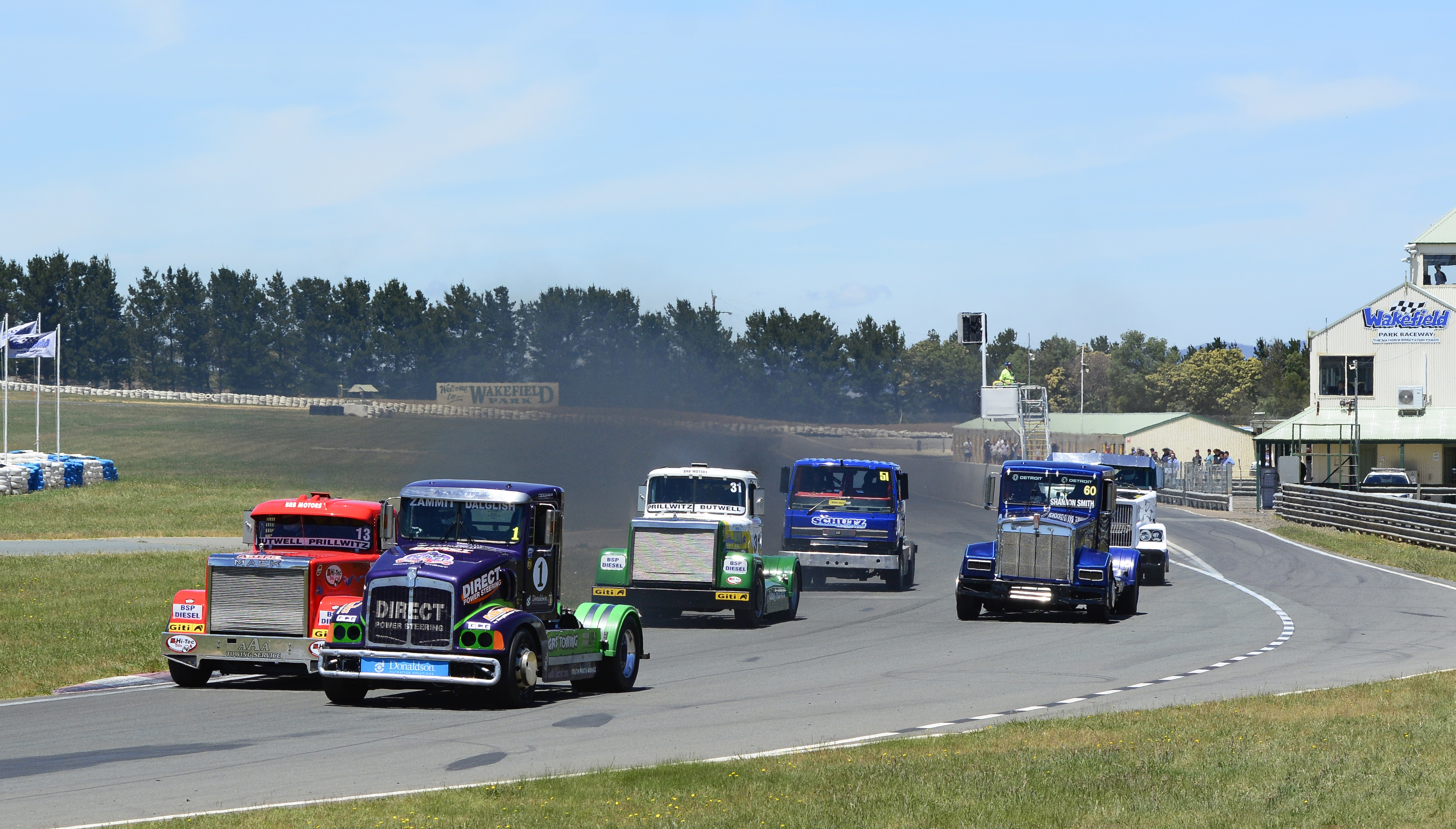 SRZ Racing Secures Super Truck Title at Wakefield